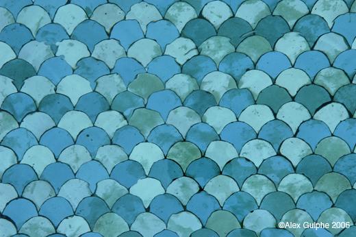 Voyages, Maroc 2006 - Décor de bassin en zellige de céramiques ...